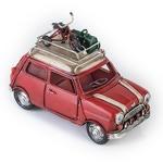 Копилка в виде автомобиля с фоторамкой. Mini Cooper