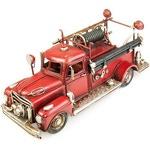 Копилка в виде пожарной машины с фоторамкой