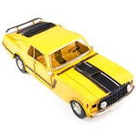 """Модель Ретро """"Автомобиль"""" гоночный, жёлтый"""