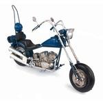 """Модель Ретро """"Мотоцикл"""" синий"""