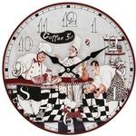 """Часы настенные """"Время пить кофе"""""""