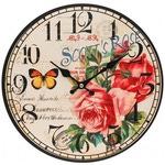 """Часы настенные """"Розовый куст"""""""
