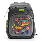 Пиксельный рюкзак с ортопедической спинкой Kids. Веселый жираф