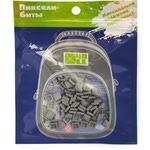 Набор пикселей-битов для рюкзаков Kids. 80 штук в упаковке. Серый