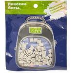 Набор пикселей-битов для рюкзаков Kids. 80 штук в упаковке. Светло-серый