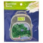 Набор пикселей-битов для рюкзаков Kids. 80 штук в упаковке. Темно-зеленый