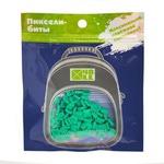 Набор пикселей-битов для рюкзаков Kids. 80 штук в упаковке. Ярко-зеленый