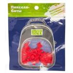 Набор пикселей-битов для рюкзаков Kids. 80 штук в упаковке. Красный