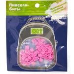 Набор пикселей-битов для рюкзаков Kids. 80 штук в упаковке. Светло-розовый