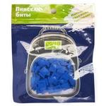 Набор пикселей-битов для рюкзаков Case. 80 штук в упаковке. Синий