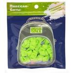 Набор пикселей-битов для рюкзаков Case. 80 штук в упаковке. Салатовый