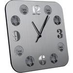 Настенные часы с фоторамками. 9 фоторамок