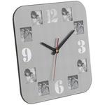 Настенные часы с фоторамками. 10 фоторамок