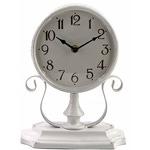 Часы настольные серые